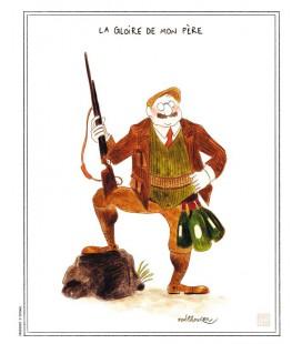 """Affiche """"La gloire de mon père"""""""