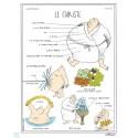 """Affiche """"Le curiste"""" par Zoé Thouron"""