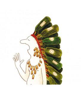 """Affiche """"UGH"""" par Zoé Thouron"""