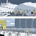 """Affiche """"Le cyclisme"""" de Simon Bailly"""