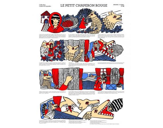 "Image ""Le petit Chaperon Rouge"" par Sheina SZLAMKA"