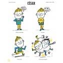 """Affiche """"César"""""""