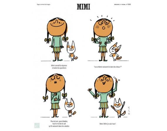 """Affiche """"Mimi"""" par Serge Bloch"""