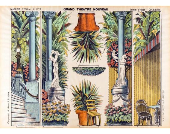 GRAND THÉATRE NOUVEAU Jardin d'Hiver - Coulisses