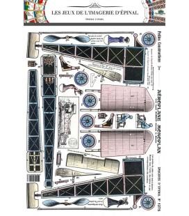"""Petites constructions """"Aéroplane monoplan"""""""