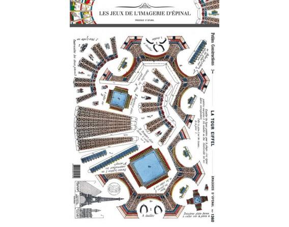 """Petites constructions """"La tour Eiffel"""""""