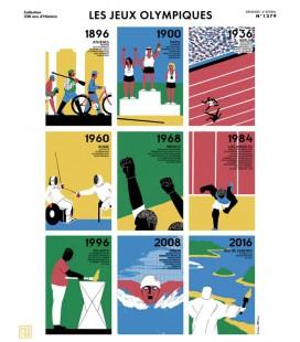 """Affiche """"Les Jeux olympiques"""""""