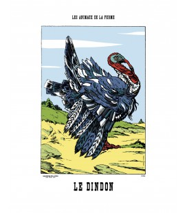 """Image """"Le dindon"""""""
