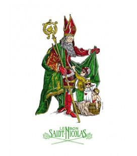 """Image """"Le bon Saint-Nicolas"""""""