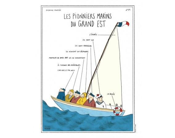 """Image """"Les Pionniers Marins du Grand Est"""""""