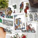 10 cartes postales « Régions & traditions de France »