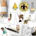 "13 cartes postales ""In vino"" par Zoé Thouron"
