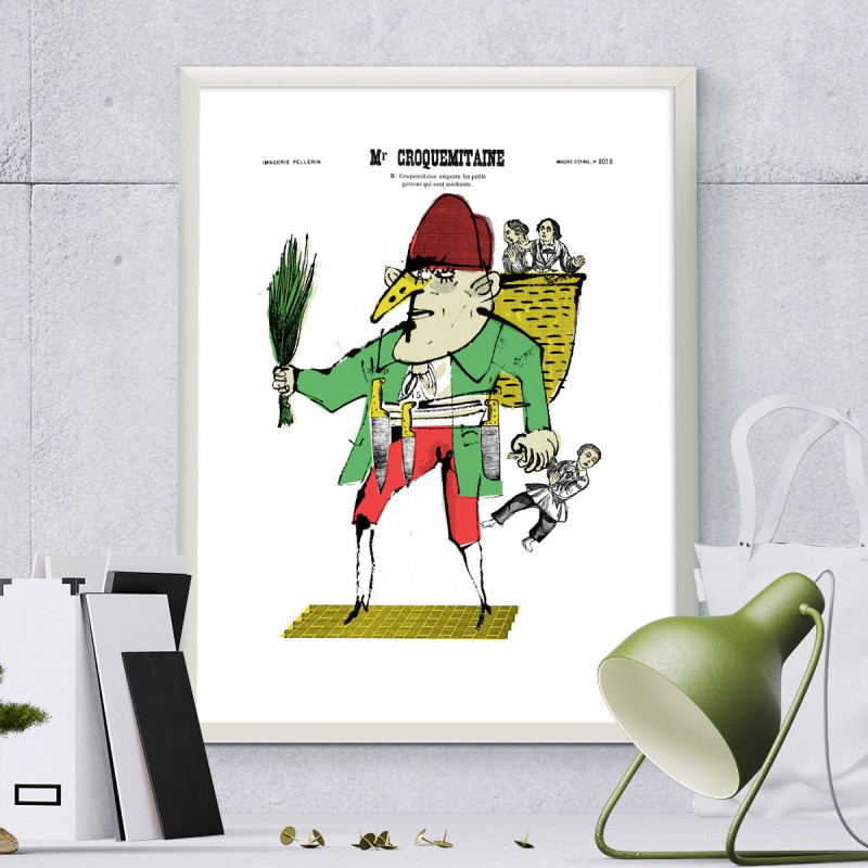 Image Monsieur Croquemitaine Maison Images D Epinal