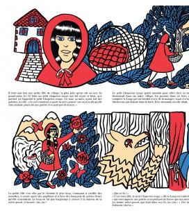 """Affiche """"Le petit chaperon rouge"""" par Sheina Szlamka"""