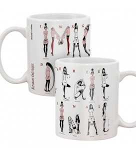 "Mug ""Alphabet érotique"""