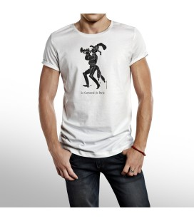 "Tee-shirt Homme ""Trompette"" taille L"