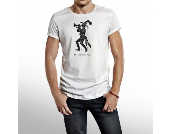 """Tee-shirt Homme """"Trompette"""" taille M"""