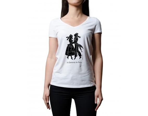 """Tee-shirt """"Carnaval de Paris"""" taille L"""
