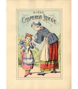 """Collection Edition Originale """"Couverture Chaperon Rouge"""