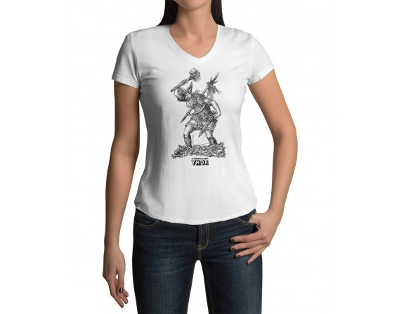 "Tee-shirt femme ""Thor"" taille L"