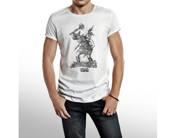 """Tee-shirt homme """"Thor"""" taille M"""
