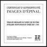 "Chromolithographie ""Taj Mahal"" par Loustal"