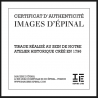 """Lithographie """"Poule d'Eau"""""""