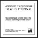 """Lithographie """"Péril Conjuré"""" Couleur encadrée / Série Marine"""