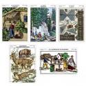 """Collection """"Le massif des Vosges"""" : 5 cartes postale"""