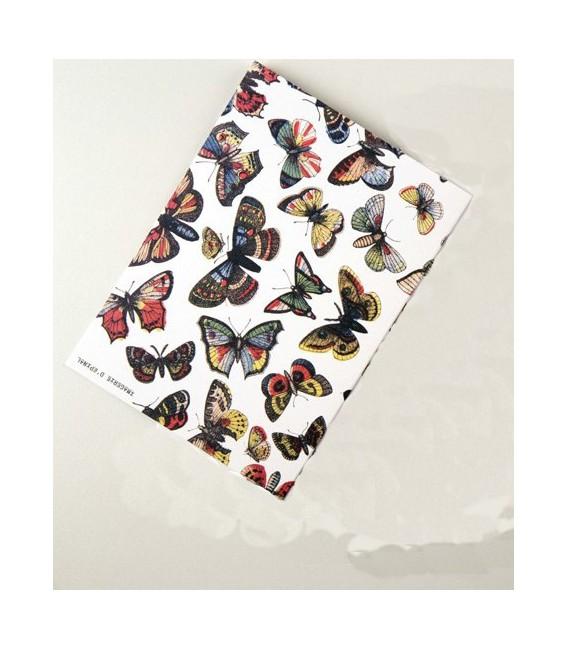 Carte double - Envol de Papillons
