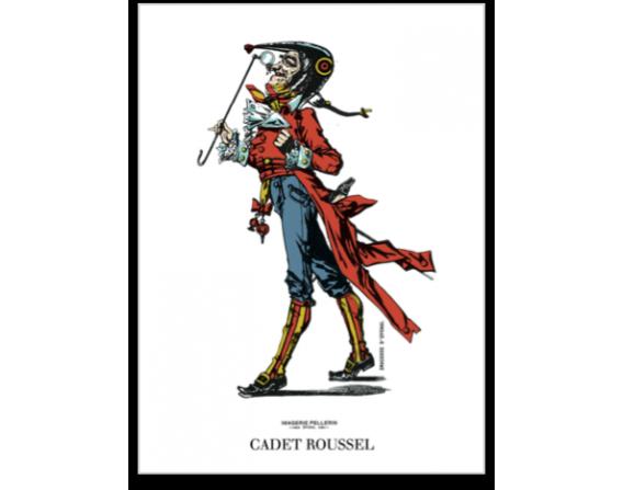 "Carte postale ""Cadet Roussel"""