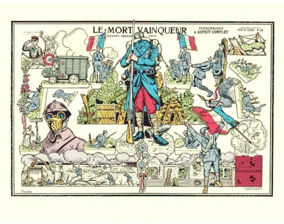 """Image """"Le mort vainqueur"""" par Trapier"""
