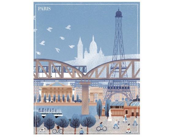 """Affiche """"Paris"""""""