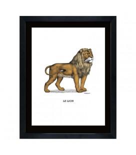 """Image """"Le lion"""""""