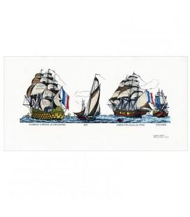 """Image """" Vaisseau, bot, corvette et steamer"""""""