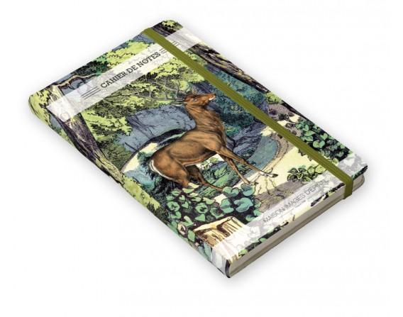 """Cahier de notes """"Fond de forêt"""""""