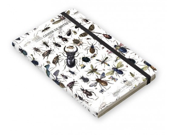 "Cahier de notes ""Insectes"""