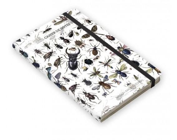 "Cahier de notes ""Insectes"""