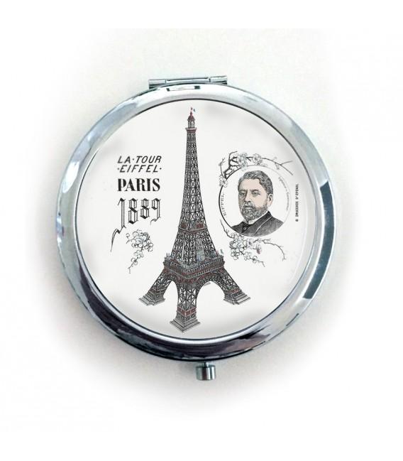"""Miroir de poche """"Tour Eiffel"""""""
