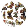 "Miroir de poche ""Papillons"""
