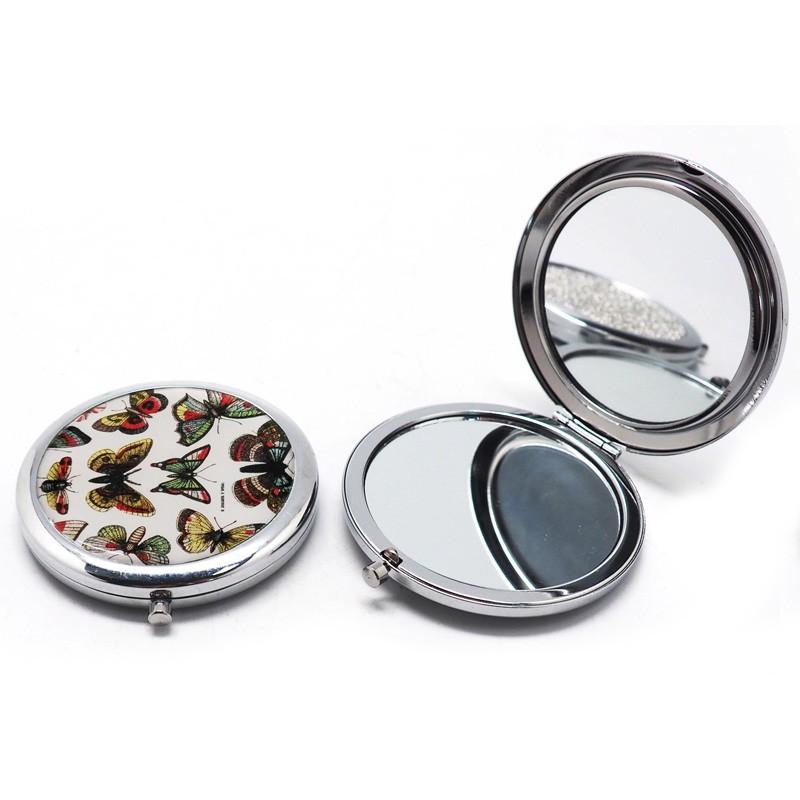 miroir de poche papillons maison images d 39 pinal. Black Bedroom Furniture Sets. Home Design Ideas