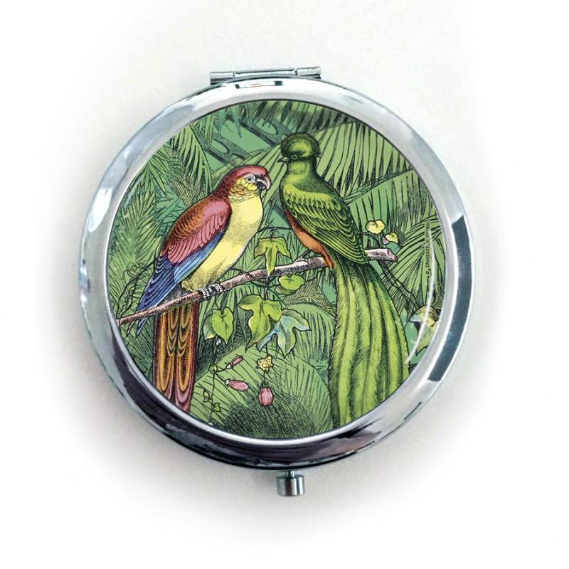 Miroir de poche oiseaux trangers maison images d 39 pinal for Miroir de poche