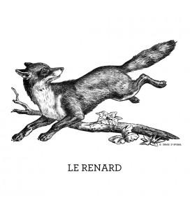 """Sac en coton """"Renard"""""""