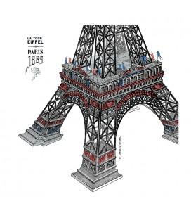 """Sac en coton """"Tour Eiffel"""""""
