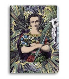 """""""Saint Victor"""" Cahier piqué avec couture A5"""