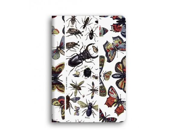"""""""Insectes"""" Carnet piqué avec couture A6"""