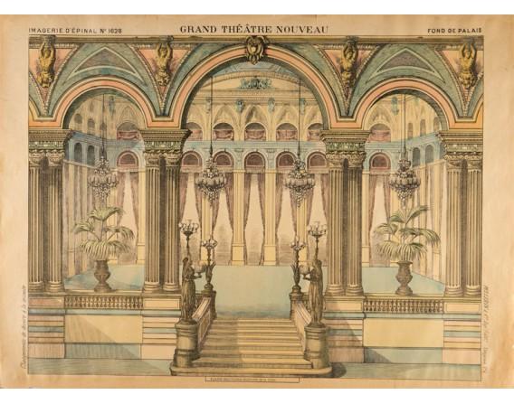 GRAND THÉATRE NOUVEAU Fond de Palais
