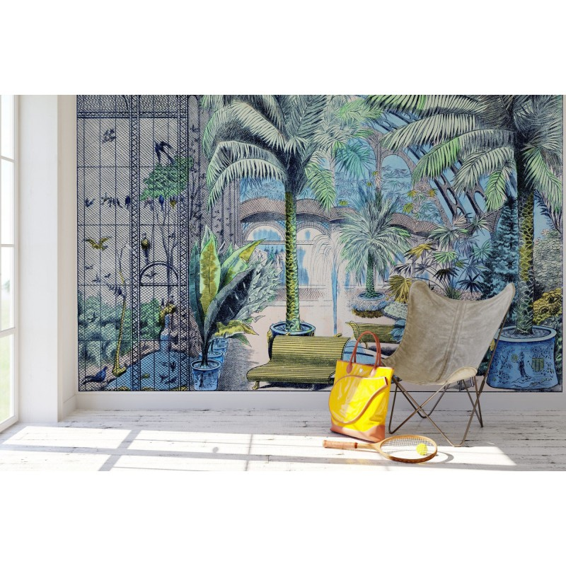 jardin d 39 hiver d cor panoramique maison images d 39 pinal. Black Bedroom Furniture Sets. Home Design Ideas