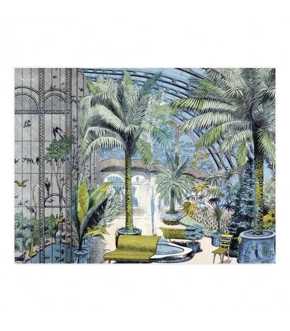 """Lot de 25 sets de table """"Jardin d'hiver"""""""