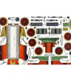 Petites constructions Automobile - décor panoramique